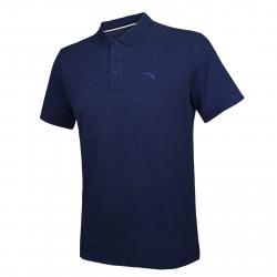 Pánske tréningové polo tričko s krátkym ANTA-SS Polo-Blue dark 1