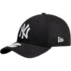 Šiltovka NEW ERA-3930 MBL BASIC NY Yankees Black/White NOS