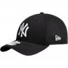 NEW ERA-3930 MBL BASIC NY Yankees  Black/White NOS