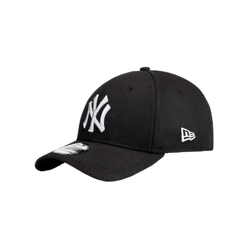 Šiltovka NEW ERA-3930 MBL BASIC NY Yankees Black/White NOS - Šiltovka značky New Era.