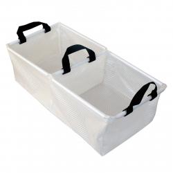 Skladací multifunkčný košík dvojitý ACE CAMP-Transparent Folding Basin 25,5x51cm