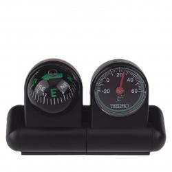 Autokompas s teplomerom ACE CAMP-Car Compass with Thermometer