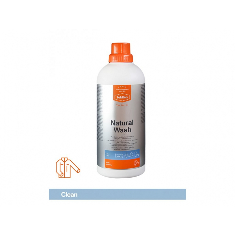 Ošetrovací prípravok na textil FELDTEN-NATURAL WASH 1000ml -