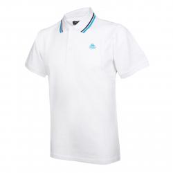Pánske polo tričko s krátkym rukávom KAPPA AUTH.MAYS-White