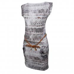 Dámske šaty FUNDANGO-Sagitta-brick