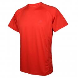 Pánske tréningové tričko s krátkym rukáv BERG OUTDOOR-NAHANNI-MEN-HIGH RISK RED
