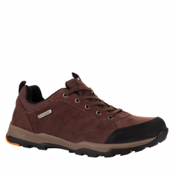 Pánska turistická obuv nízka POWER-Alvin brown/orange