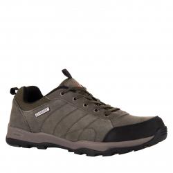 Pánska turistická obuv nízka POWER-Alvin green