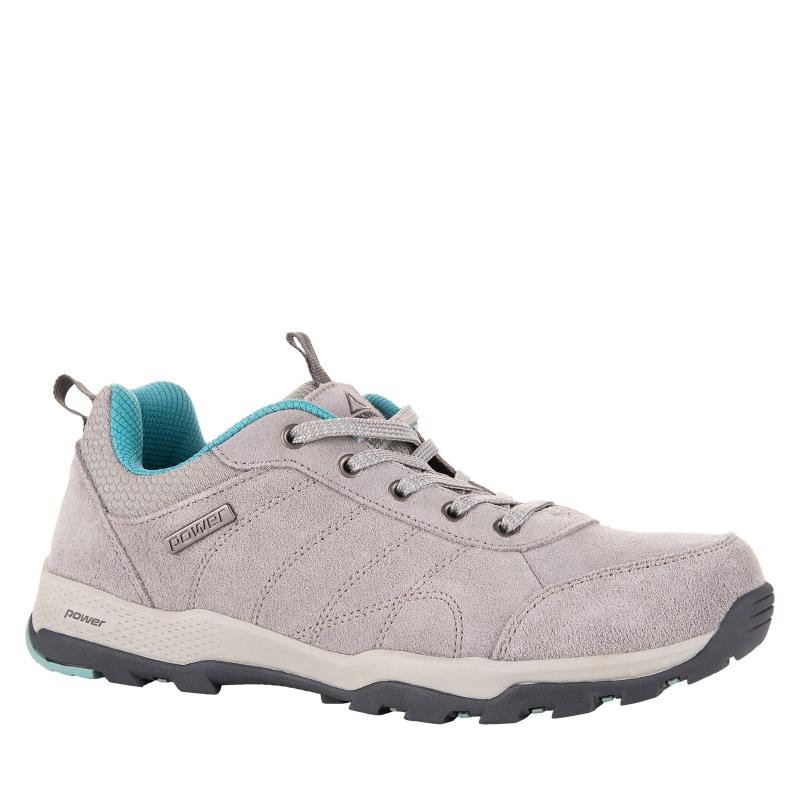 b36296dc8d39c Dámska turistická obuv nízka POWER-Salma grey/blue | EXIsport Eshop