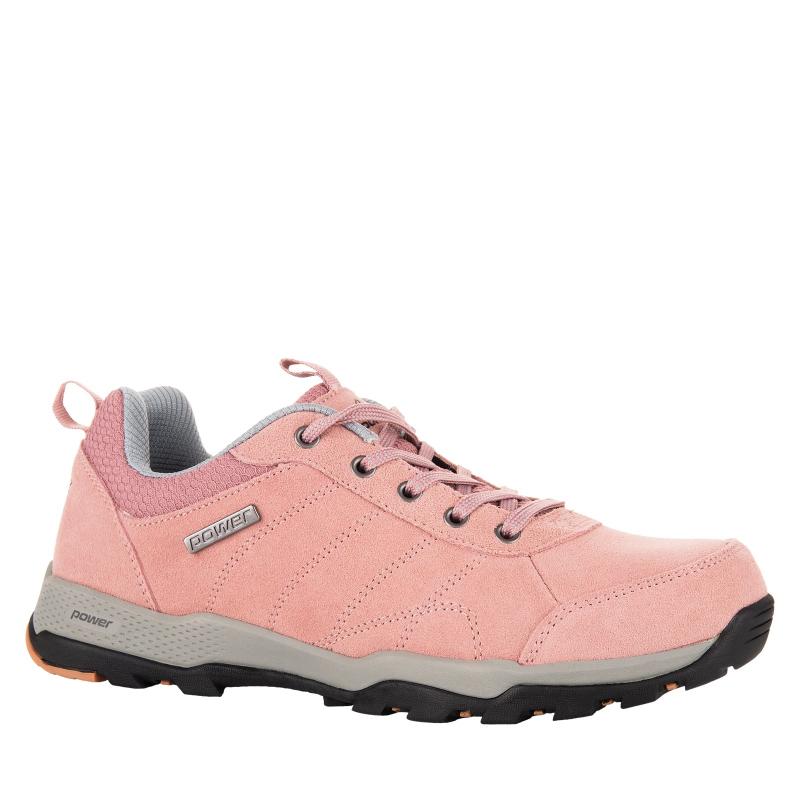 8607abcbba85 Dámska turistická obuv nízka POWER-Salma pink grey