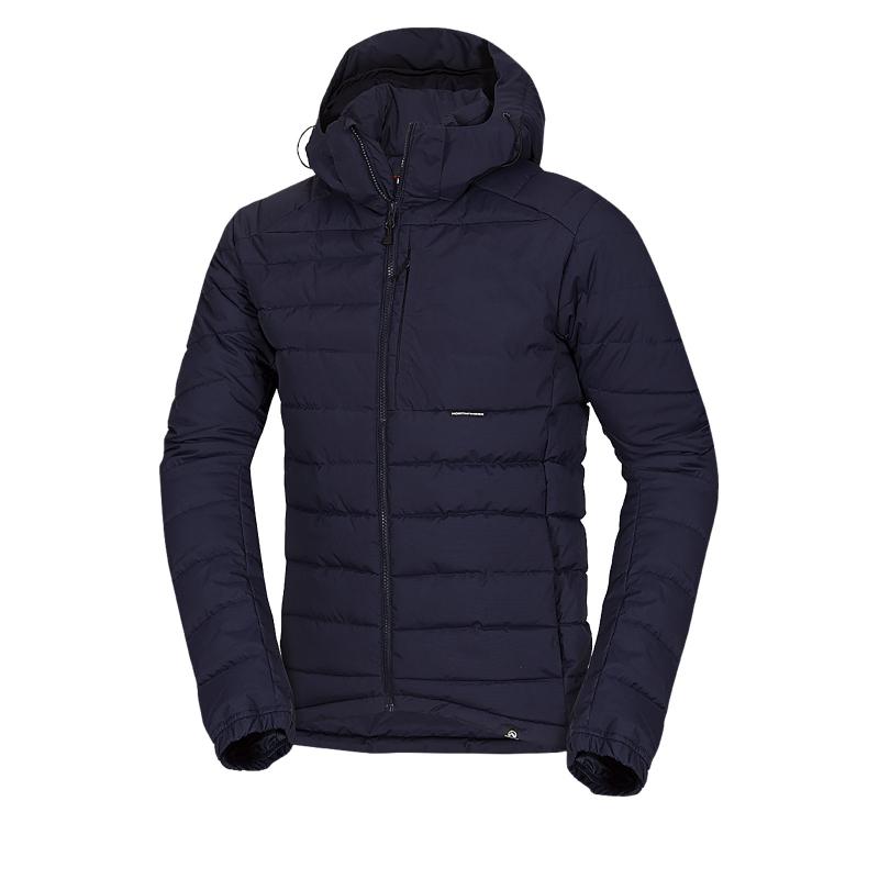 Pánska lyžiarska bunda NORTHFINDER-KASON-darkblue - Pánska lyžiarska bunda značky Northfinder určená do vlhkého a veterného počasia.