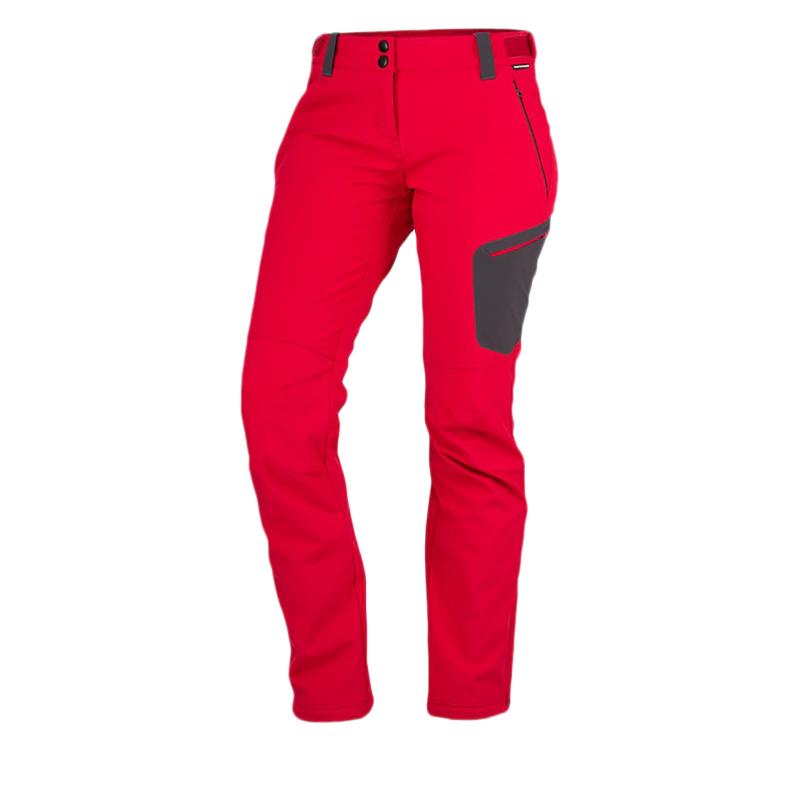e7045a58ed49 Dámske turistické softshellové nohavice NORTHFINDER-PHOEBE-darkred - Dámske  nohavice značky Northfinder z 3