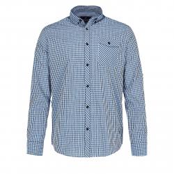 Pánska košeľa s dlhým rukávom VOLCANO-K-FEN-611