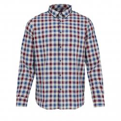 Pánska košeľa s dlhým rukávom VOLCANO-K-ROSK-705