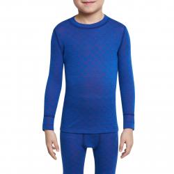 Juniorské termo tričko s dlhým rukávom THERMOWAVE-MERINO XTREME-JUNIOR-L-sleeve-Blue