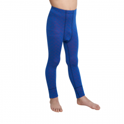 Juniorské termo nohavice THERMOWAVE-MERINO XTREME-JUNIOR-Pants-Blue