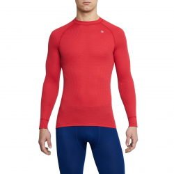 Pánske termo tričko s dlhým rukávom THERMOWAVE-ORIGINALS-Men-L-sleeve-Red dark