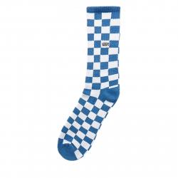 Ponožky VANS-MN CHECKERBOARD CREW BLUE/WH