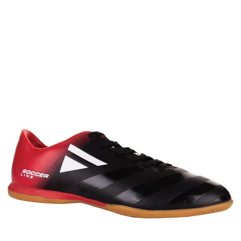 Pánske futbalové kopačky halové LANCAST-READYS ESTADO M IC black/red - Pánske futbalové kopačky halové značky Lancast.