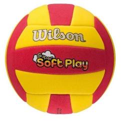 Volejbalová lopta WILSON-SUPER SOFT PLAY VB RDYE BULK