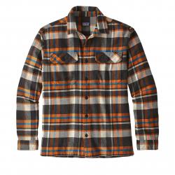 Košeľa s dlhým rukávom PATAGONIA-Ms L/S Fjord Flannel Shirt BAMA
