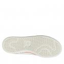 Rekreačná obuv ADIDAS ORIGINALS-Stan Smith New Bold W FTWWHT/FTWWHT/OWHITE - Dámska obuv značky adidas Originals v ležérnom streetovom štýle.