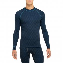 Pánske termo tričko s dlhým rukávom THERMOWAVE-MERINO XTREME-Men-L-sleeve-Blue dark