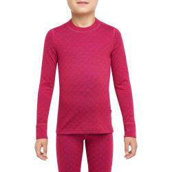 Juniorské termo tričko s dlhým rukávom THERMOWAVE-MERINO XTREME-JUNIOR-L-sleeve-Redblue