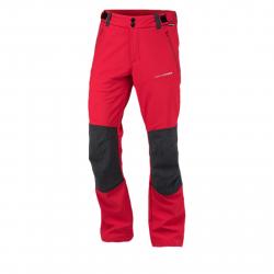 Pánske turistické softshellové nohavice NORTHFINDER-WADE-red