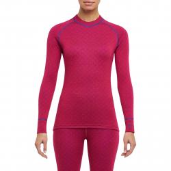 Dámske termo tričko s dlhým rukávom THERMOWAVE-MERINO XTREME-Women-L-sleeve-Redblue