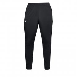 Pánske tréningové nohavice UNDER ARMOUR-SPORTSTYLE PIQUE TRACK PANT-BLK