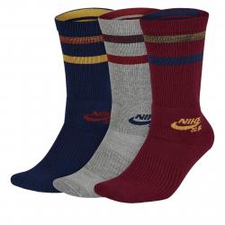 Ponožky NIKE-Unisex Nike SB Crew Skateboarding Socks (3 Pairs) MULTI