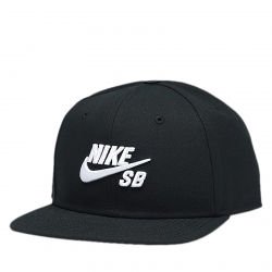 Šiltovka NIKE-SB ICON PRO BLACK/BLACK/BLACK/WHITE