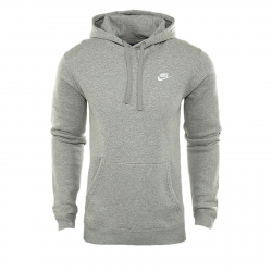 Pánska mikina s kapucňou NIKE-Mens Nike Sportswear Hoodie DK GREY HEATHER/DK GREY HEA
