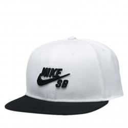 Šiltovka NIKE-Nike SB Hat WHITE/BLACK/BLACK/BLACK