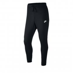 Pánske teplákové nohavice NIKE-M NSW CLUB JGGR FT BLACK/WHITE