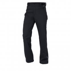 Pánske turistické softshellové nohavice NORTHFINDER-MADDOX-black