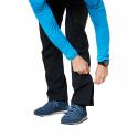 Pánske turistické softshellové nohavice NORTHFINDER-CAMREN-black -