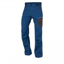 Pánske turistické softshellové nohavice NORTHFINDER-CAMREN-navy