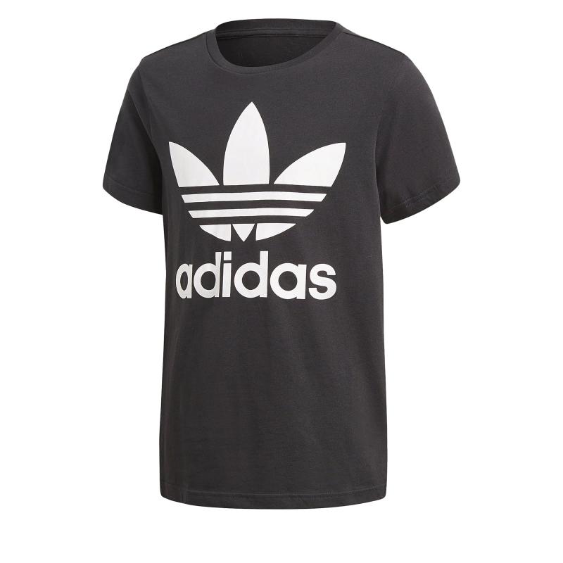 4112d5bc4aa9 Detské tričko s krátkym rukávom ADIDAS ORIGINALS-J TRF TEE BLACK WHITE -