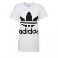 Dámske tričko s krátkym rukávom ADIDAS ORIGINALS-BIG TREFOIL TEE WHITE BLACK be33fe44f06