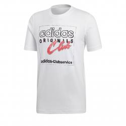 timeless design 82b19 5404c Pánske tričko s krátkym rukávom ADIDAS ORIGINALS-HAND DRAWN T5 WHITE