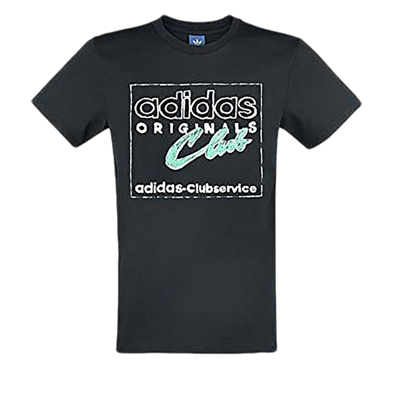 Pánske tričko s krátkym rukávom ADIDAS ORIGINALS-HAND DRAWN T5 BLACK 9b8d393b2c3