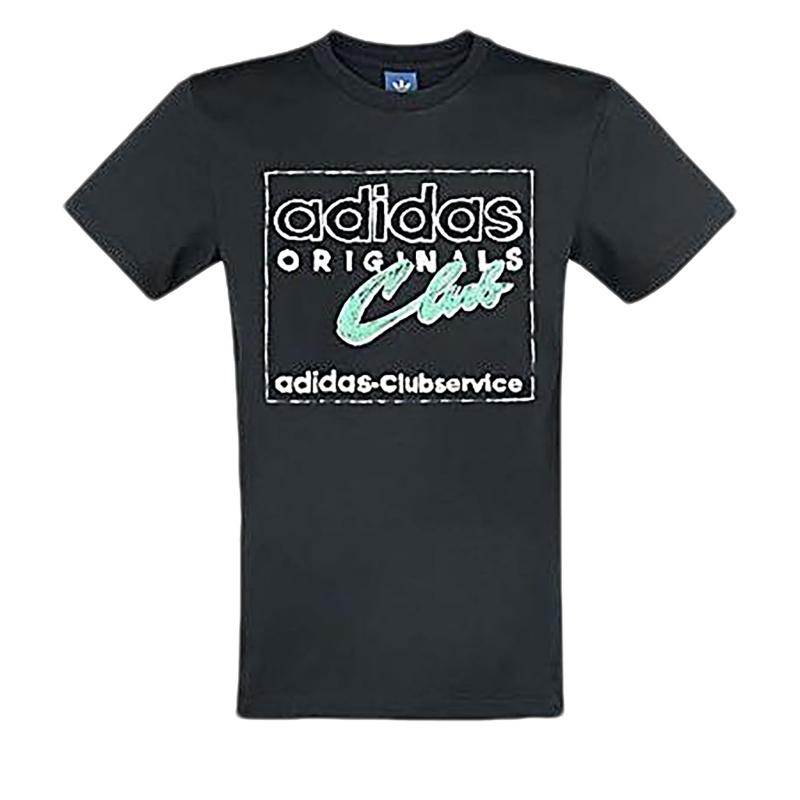 Pánské triko s krátkým rukávem ADIDAS HAND drawn T5 BLACK