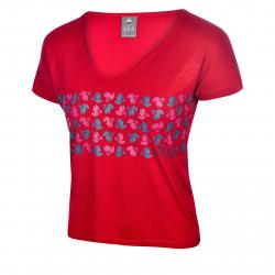 Dámske tričko s krátkym rukávom BERG OUTDOOR-PECOS RED