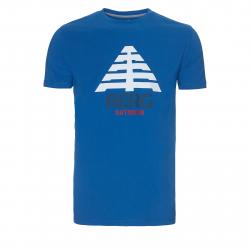 Pánske tričko s krátkym rukávom BERG OUTDOOR-CASTELO SNORKEL BLUE