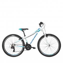 Dámsky horský bicykel KROSS-Lea 1.0 D 26 white_blue_glossy