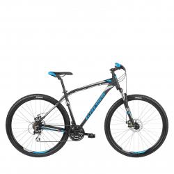 Horský bicykel KROSS-Hexagon 4.0 29 black_blue_silver_matt