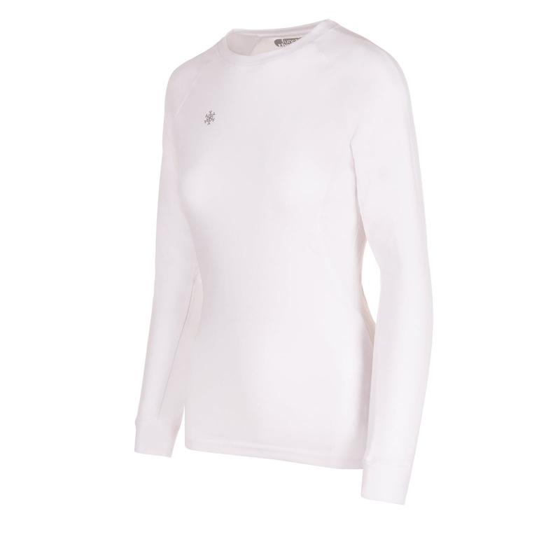 Dámske termo tričko s dlhým rukávom AUTHORITY-THALYMA I white ... e627c343302