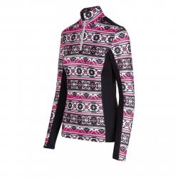 Dámské triko s dlouhým rukávem AUTHORITY-DRY8W P ZIP pink